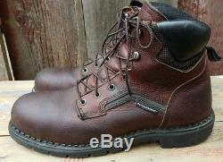 2 Pairs Red Wing Boots ASTM F 2413-11 / F 2892-11 Brown/Black 11.5 D Steel Toe