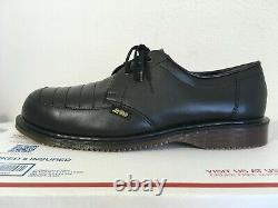 90's Vintage Steel Toe 12 Dr. Martens shoes ENGLAND 3-eye 1925 boots quilon mie