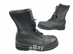 Addison Shoe Company Steel Toe Military Army Vintage Combat Boots (Size 8.5)