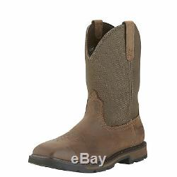 Ariat 10015196 Groundbreaker H20 Square Safety Toe Non-Slip EH Rated Work Boots