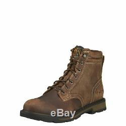 Ariat 10016256 Groundbreaker 6 EH Rated Western Roper Style Lacer Work Boots