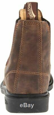 Blundstone 1306 Rustic Brown Unisex Leather Chelsea Boots