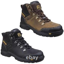 CAT Caterpillar Framework Safety Boots Mens S3 Industrial Steel Toe Work Shoes