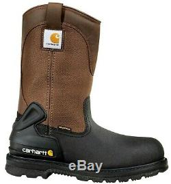 Carhartt CMP1259 Men's 11 Insulated Steel Toe Wellington Boots Warm Work Shoes