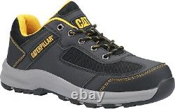 Caterpillar CAT Elmore Lo S1P grey steel toe/midsole work safety trainer shoes