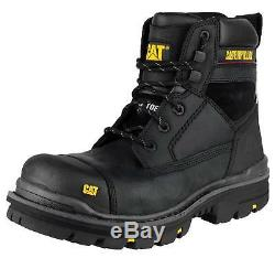 Caterpillar Gravel Black Ultrasafe Safety Boots-tough & Durable
