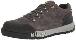Caterpillar Men's Converge Steel Toe Lace Up Grey Work Shoes P91032 Size 7.5