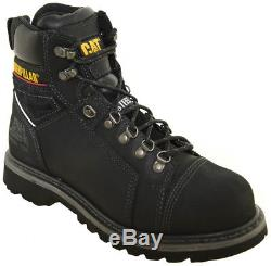Caterpillar Men's Tracklayer 6 Steel Toe Work Boots Black Style P90447