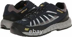 Caterpillar Mens INFRASTRUCTURE ST Steel Toe Work Safety Leather Shoes