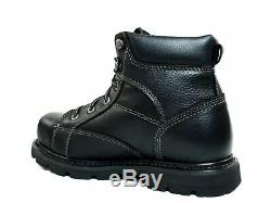 Caterpillar Track ST Men's Steel Toe Boots Work and Safety Black Leather