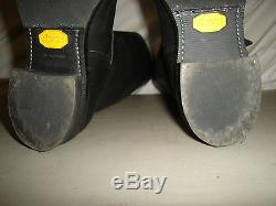 Chippewa 17 11.5D Black Leather Steel Toe Engineer Motorcycle Boots 27909