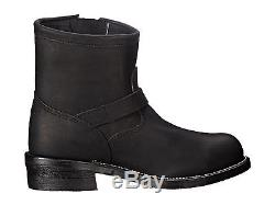 Chippewa 7in Engineer Steel Toe Sz 12 D Black Leather Motorcycle Mens Boots USA