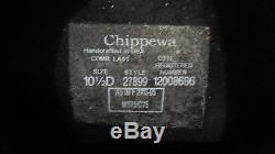 Chippewa Boots Mens USA Made Steel Toe 27899 Slip-On Engineer Work Boots 10.5D