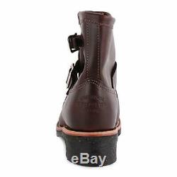 Chippewa Cordovan Leather Engineer Boots EU 43 US 9.5E UK 9 Brand New with Box