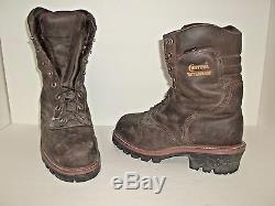 Chippewa Men's 25405 9 Waterproof Insulated Steel-Toe EH Logger Boots 10.5 E