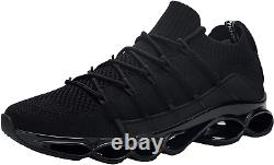 DYKHMATE Steel Toe Cap Trainers Mens Womens Lightweight Breathable Safety Safety