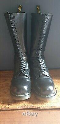 Doc martens boots 20 hole steel toe size 11