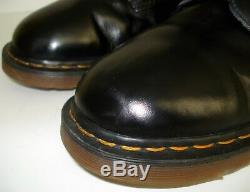 Dr. Doc Martens US 13 Air Wair 10 Eyelet 1490 Smooth Boots EU 47 Made in ENGLAND