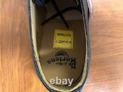 Dr. Martens 3-Eye Mens Size 11 Fashion Steel Toe Leather Shoes 1925 5400
