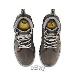 Dr Martens DM Docs Ladies Opal Grey Leather Steel Toe Cap Work Safety Boots PPE
