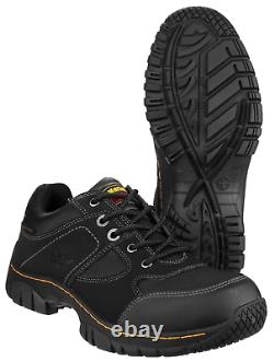 Dr Martens Gunaldo Mens Safety Shoes Doc Work Occupational Trainers Steel Toe