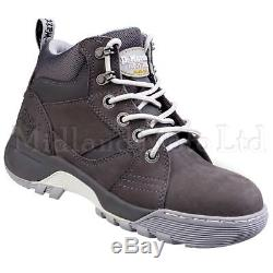Dr. Martens Ladies Steel Toe Cap Safety Boots Doc Martins Opal DM's 6703