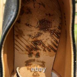 Dr Martens Made In England 1925 3-Eye Lace-up Black Steel Toe Shoes Size UK7