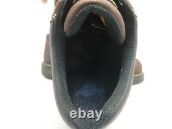 Dr Martens Men's GUNBY LEATHER STEEL TOE WORK SHOES Brown Size 10M