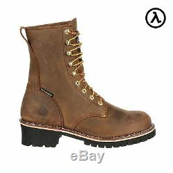 Georgia Steel Toe Waterproof 400g Insulated Logger Boots Gb00065 All Sizes