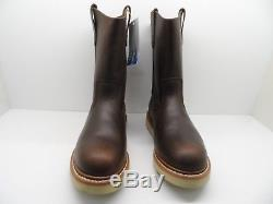 Golden Retriever Men's 9905 Pull On Wedge Boot Steel Toe Brown Size 10.5W