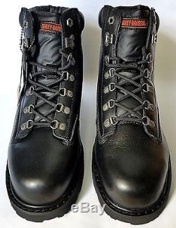 Harley-Davidson Mens Drive Motorcycle Steel Toe Boots D91144 Sz 10.5, 11, 12