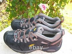 KEEN NEW! Utility Steel Toe Work Shoes black leather men's size 10.5 D