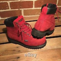 Ladies Safety Work Boots Lace Up Steel Toe Cap Shoes