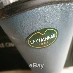 Le Chameau Chamosec Security Steel Toe Wellington Boots size 41 UK 7 Grissbleu