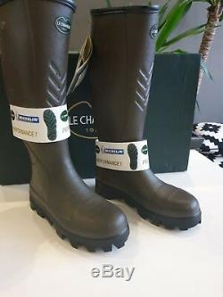 Le chameau BTE Ceres Steel Toe Hunting Boots size 40 UK 6.5 Marron CLEARANCE