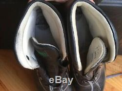 Limmer Standard Men's Boots Black Leather Steel Toe 14/ 15 US Made In Germany