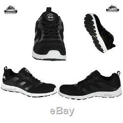black trainer work shoes