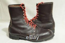 Mason Shoes 10 D Dark Brown Leather Lace Up USA Made Vibram Boots