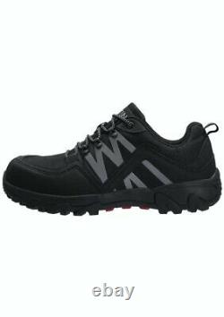 Men's Steel Toe Slip Resistant Puncture Proof Construction Safety Work Shoes