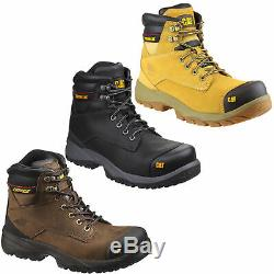Mens Caterpillar Spiro Steel Toe Midsole S3 Safety Boots Sizes 7 to 12