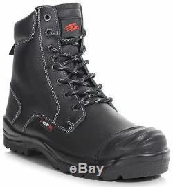 Mens Lightweight S3 Leather Safety Work Steel Toe Cap Shoes Trainers Boots Size