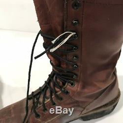 Mens Size 10.5 Red Wing Lineman Logger Boots Steel Toe Work Rancher Combat