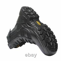 Mens Tactical Safety Steel Toe Cap Work Security Military Combat Shoe Boots Size