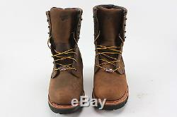 Red Wing Shoes 4417 Steel Toe Waterproof Insulated Logger Boots Size 9
