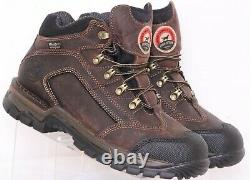 NEW Red Wing Shoes Irish Setter Brown Leather Work Steel Toe Oxford Mens US 8.5D