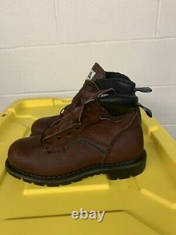 NEW Work Red Wing 3526 Safety Boots Steel toe Shoes Made in USA New Sz 8 EE