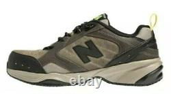 New Balance Men's 627 Industrial Steel Toe MID6270 Brown Shoes Size US 9.5 2E