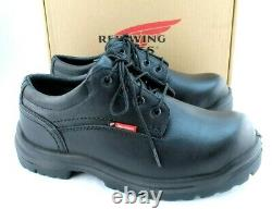 New RED WING King Toe 6633 Size 10 D Steel Toe EH Mens Work Shoes RETAIL $154