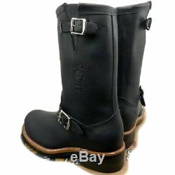 New! Size 11E Men's Chippewa 27899 Steel Toe Engineer Boots Black US Made