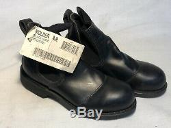 New Us Navy Usn Military Chukka Deck Safety Short Boots Shoes Molders Men's 4r